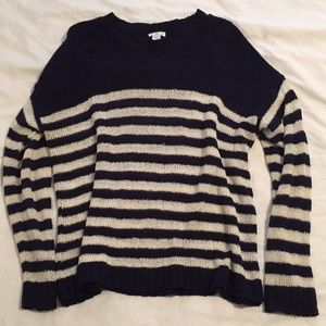 BP Striped Crewneck Sweater Size L